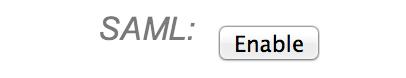 Enable SAML